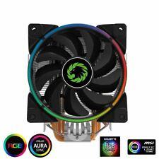 Game Max Gamma 500 RGB CPU Cooler Heatsink And 12cm Fan For Intel/AMD Processor