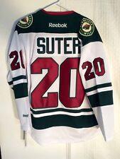 Reebok Premier NHL Jersey Minnesota Wild Ryan Suter White sz S