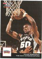 David Robinson Scoops Hoops 1993/94 NBA Basketball Card #HS24
