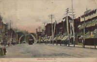 Postcard Liberty St Franklin PA