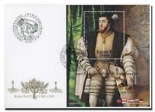 Luxemburg 2019  kaiser Karl V blok    FDC