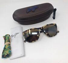 Maui Jim HOWZIT H734-10L Tortoise Sunglasses Polarized HCL Bronze Lenses