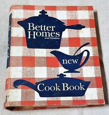 BETTER HOMES AND GARDENS NEW COOKBOOK Cook Book 1962 5-Ring Binder First Print