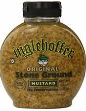 Inglehoffer Condiment Original Stone Ground Mustard 10 oz Bottle
