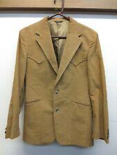 EUC Vtg 70s Levi's Panatela Sportswear Corduroy 2 Button Western Sport Coat 38R