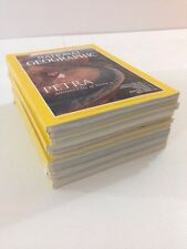 Lot of 12 - National Geographic Magazines - Complete Year - 1998