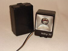 TICKY 77 VINTAGE FLASH UNIT AND CASE