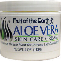 Fruit of the Earth ALOE VERA SKIN CARE CREAM 4 OZ