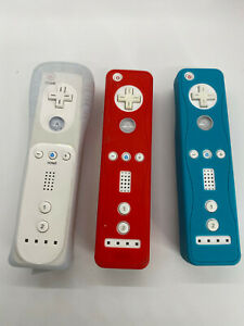 Lot of 3 Nintendo Wii Controllers Remotes 2 OEM 1 Aftermarket UNTESTED Repair