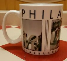 Starbucks Coffee Philadelphia Mug City Scenes Series Tea Cup Liberty Bell Love!!