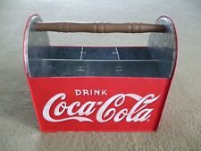 COCA COLA METAL BOTTLE HOLDER UTENSIL NAPKIN COLLECTIBLE EXCELLENT!