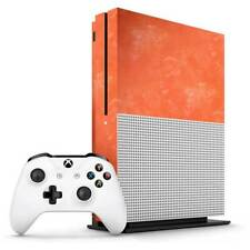 Orange Watercolour Xbox One S Skin / Xbox One S Skin Sticker Cover