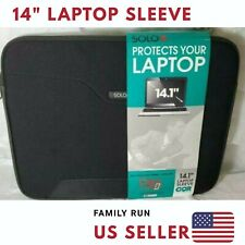 """14"""" Laptop Sleeve Case Cover For HP Chromebook Dell Lenovo Notebook Macbook pro"""