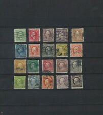 US Scott #498-518 Series 1917-1919  Used, Includes #512a