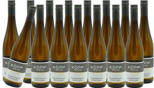 (15 x 0,75l) 20er CHARDONNAY Prädikatswein Erzeugerabfüllung Weingut Kopp Pfalz