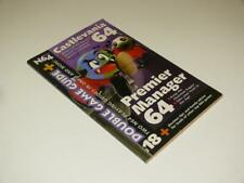 N64 Magazine ~ Double Game Guide ~ Castlevania / Premier Manager 64