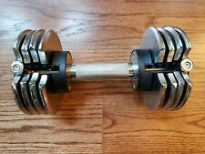 Weider Speedweight Adjustable Dumbbell 25Lbs  10 15 20 25 Weight