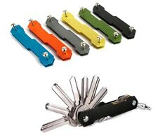 (Black Color Only)  Smart Key Holder Organizer Clip Keychain Pocket Tool