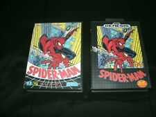 Spider-Man Sega Genesis And Japanese Import Mega Drive Versions Sega Lot CIB