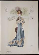 Goubaud - Fashionably Dressed Woman. 1102 - 1904 Le Mode Artistique FOLIO