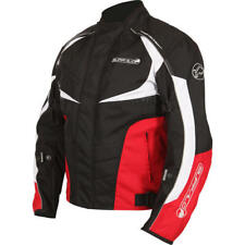 NEW BUFFALO BLITZ 100% WATERPROOF ARMOURED TEXTILE JACKET RED SIZE XL RP £99.99