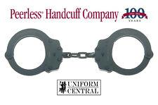 NEW Peerless Black Oxide Finish - Chain Handcuffs 701C w/ 2 Keys - Police