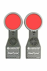 LaserLyte TLB-MOS Steel Tyme Laser Trainer Targets with Plinking Steel Sound and