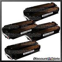 4PK Q2613X 13X Toner for HP BLACK High Yield Cartridge LaserJet 1300 1300n 1300x