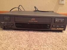 JVC HI-SPEC DRIVE Model: HR-J21OU VHS VCR! POWERS ON BUT EATS TAPES!