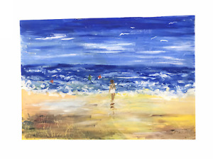 1989 Australian Beach - Original Painting