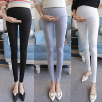 Women Stretchy Maternity Leggings Over Bump Full Length Pregnancy Pants Trousers
