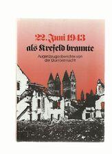 22.JUNI 1943 - ALS KREFELD BRANNTE * AUGENZEUGENBERICHTE (FL03C)