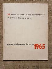 Mostra nazionale d'arte contemporanea  premio San Benedetto del Tronto 1965