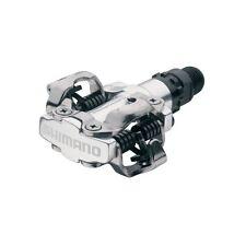 Shimano Shimano m520 Senza Clip SPD Pedali Argento