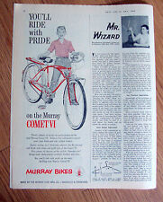 1960 Murray Bikes Bicycles Ad Comet VI