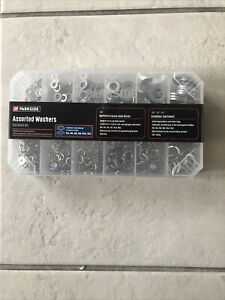 Parkside Assorted  Washers 350 pieces Stainless Steel Design In Various Sizes
