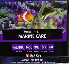 Red Sea Marine Care Test Kit for Ammonia, Nitrite, Nitrate, pH, KH Fast Delivery
