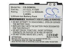 920mAh Premium Battery for DELL OK158R D986R H11S22 H11B01B K158R Aero V02B V01B