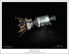 "Apollo 13 Space Art Print by Mark Karvon, Size 11"" x 14"""