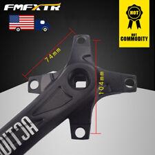 FMFXTR 104BCD Aluminum alloy CNC Single/Double/Triple MTB Bike Black Crank set