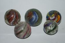 GB*** five antique German big marbles