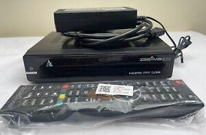 ZGEMMA H.2s HD DVB S2 Twin Tuner Receiver Linux  2X USB Dolby Digital