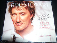 Rod Stewart It Had To Be You Australian Promo Sampler Promo CD Single