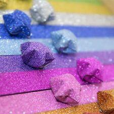 DIY Manual Handcraft Lucky Stars Origami Material Decor Scrip Craft Star Paper