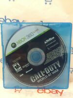 Call of Duty: World at War (Microsoft Xbox 360, 2008) DISC ONLY  - FREE SHIPPING