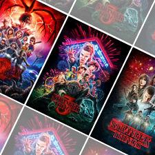 STRANGER THINGS Season 1 2 3 Posters Bundle - 3x Prints - Size A3