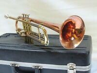 1971 Yamaha made COPPER🎺 CONN 21B Coprion Trumpet - Case & Conn 7c Mouthpiece