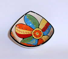 Spanish Ceramic 3 Cornered Bowl 14cm