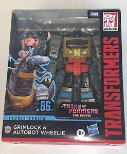 Transformers Studio Series 86-06 Leader Class Grimlock & Autobot Wheelie