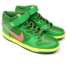 NWT Nike Dunk Mid Pro SB Watermelon Sneakers Lucky Green 2013 DS 10.5 AUTHENTIC